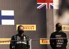 FIA uzsākusi izmeklēšanu par F1 pasaules čempiona Hamiltona krekla izvēli