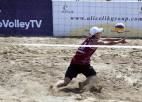 Latvijas dueti ar mainīgām sekmēm sāk Eiropas U18 čempionātu