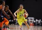 """48 trauksmainas stundas Floridā: WNBA """"burbulis"""" nepārplīst"""