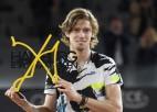 Rubļovs izglābjas Hamburgas finālā pret Cicipasu un iegūst karjeras vērtīgāko titulu
