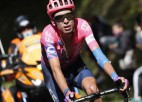 ''Vuelta a Espana'' 12. posmā Liepiņam 130. vieta, uzvar Kartijs