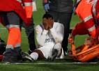 """Madrides """"Real"""" futbolists Rodrigu traumas dēļ izlaidīs trīs mēnešus"""