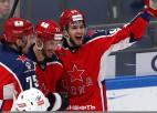 Grandu duelī CSKA trešo reizi šosezon pārspēj SKA, Hārtlijam zaudējumu sērija