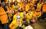Foto: Latvijas sudraba bobslejisti atgriezušies no Soču olimpiādes