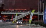 Foto: Eiropas rallija čempionāta braucēji sacenšas Liepājas ielās