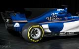 """Foto: Jaunais """"Sauber C36"""" F1 modelis tuvplānā"""
