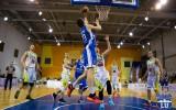 Foto: LU studenti spraigā cīņā piekāpjas ''Valka/Valga'' basketbolistiem