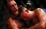 Foto: Makgregors asiņainā cīņā pēc punktiem sakauj Diazu