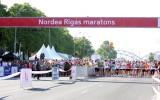 Foto: Rīgas maratonā ātrākie ārzemnieki