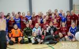 """Foto: Mūsu juniores atzīst """"Pirkkala"""" U19 komandas pārākumu"""