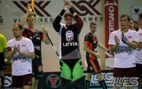 Foto: Latvijas izlase turnīru sāk ar zaudējumu šveiciešiem