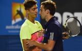 "Foto: Gulbim neveiksme ""Australian Open"" ievadā"