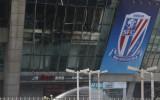 Aizdegas Tevesa pārstāvētā Ķīnas Superlīgas kluba stadions