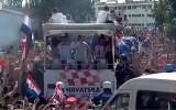 Video: PK vicečempioni tiek sumināti Zagrebas ielās