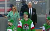 Video: Treneris Biļaļetdinovs nerealizē soda metienu KHL Zvaigžņu spēlē