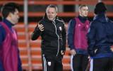 """Stojanovičs: """"Šobrīd vēl konkrēti nezinu, kurš rītdien būs izlases kapteinis"""""""