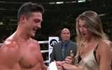 Video: Atlēts debitē profesionālajā boksā un bildina draudzeni