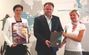 """Valsts Prezidenta balvu vieglatlētikā atbalsta """"Valmiera Glass"""" grupa"""