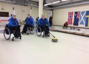 Noskaidroti ratiņkrēslu kērlinga čempioni