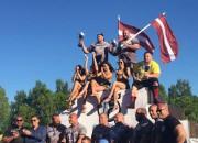 Spēkavīrs Zāģeris pirmoreiz triumfē Čempionu līgas posmā