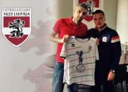 """""""1625 Liepāja"""" pievienojas nesenais Azerbaidžānas izlases spēlētājs Askerovs"""