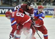 Pasaules čempionātā 9. maijā Latvijas un Krievijas cīņa