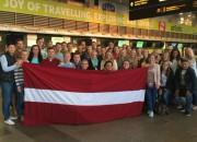 Latvijas frisbija izlases startēs Eiropas čempionātā