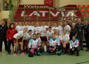 Latvijas florbolistes turnīru Babimostā pabeidz ar zaudējumu Norvēģijai