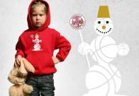 Bērnu kapučjaka Sniegavīrs