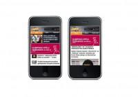 Reklāma Sportacentrs.com mobilajā versijā