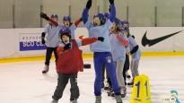 """VTV sižets: """"Ledus gladiatori"""" jau ceturto gadu sacenšas Vidzemes Olimpiskajā centrā"""