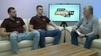 Latvijas jaunie handbolisti par spēlēšanu pie vīriem un handbolu Vācijā