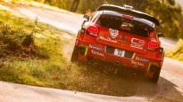 Korsikas WRC rallija treniņos ātrākais Mīke, Lēbs septītais