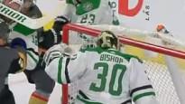 NHL nedēļas atvairījumu topā triumfē Bišops