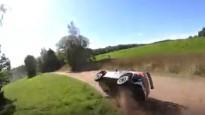 """""""Neiksans Rallysport"""" ekipāžas avārija no drona lidojuma"""