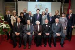 Video: Svētku laikā Ministru Kabineta balvas saņem pieci  izcili latvieši