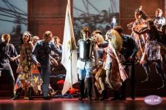 "Video: ""Žanna d`Arka"" Dailes teātrī. Izrādes fragmenti"