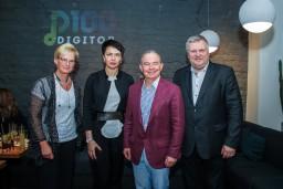 """Svinīgi atklāj Latvijā straumētākās mūzikas topu  """"Digitop100"""""""
