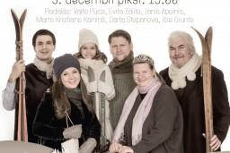 """Pirmās adventes koncerts """"Es skaistu vietu zinu""""  Jaunajā Sv. Ģertrūdes baznīcā"""
