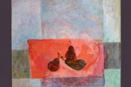 """Izstāde """"Ko stāsta gleznas un mākslas darbu mazās formas mājas interjerā?"""""""