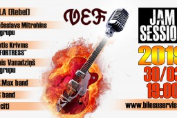 "90-to gadu rekonstrukcija ""JAM SESSION 2019"""