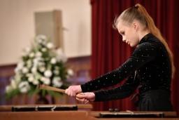 """Konkursa """"Ineses Galantes talanti"""" laureāti uzstājās Rīgas pilī"""