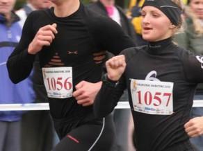 Sportlat Valmieas maratonā - City Fitness pāru skrējiens