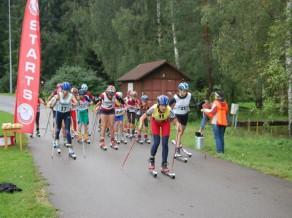 2.oktobrī Priekuļos Baltijas kauss un Latvijas čempionāts rollerslēpošanā