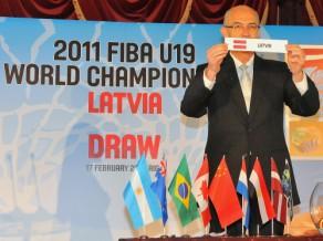 U19 izlasei grupā Austrālija, Argentīna un Taivāna
