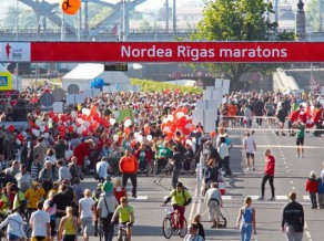 Nordea Rīgas maratonā skries 16 358 dalībnieku