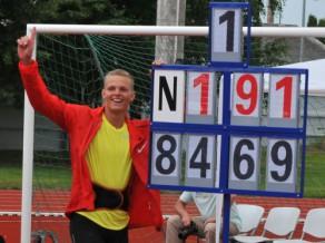 Sirmajam jauns pasaules junioru rekords - 84.69, Vasiļevskim - 87 metri
