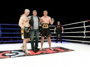 Egle – jaunais Baltijas MMA čempions, Briedis uzvar 1. raundā
