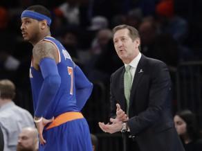 """""""Knicks"""" vēlreiz zaudē līgas sliktākajai komandai """"Nets"""""""