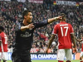 Ronaldu gūst 100. vārtus Eirokausos, ''Real'' otrajā puslaikā apspēlē ''Bayern''